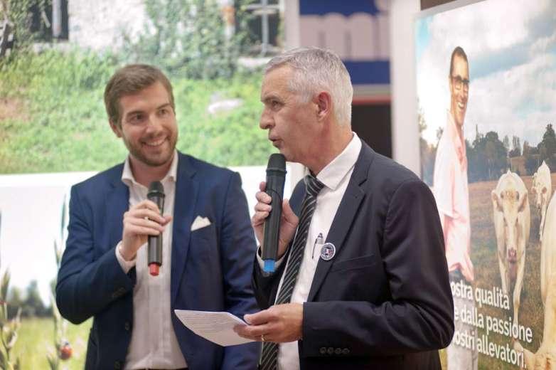 Dominique Guineheux, Presidente CVBE, al Tuttofood 2019